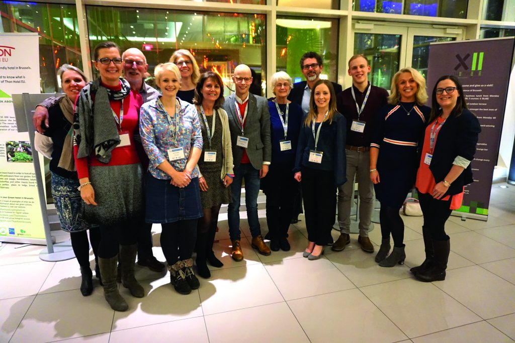 Kickstarting progress. The advocacy group Unite2Cure, pictured at the CDDF-ITCC SIOPE 4th Annual Paediatric Oncology Conference, January 2016, where their call for changes to the EU Paediatric Medicines Regulation got an enthusiastic reception