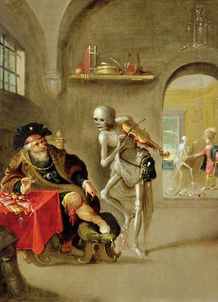 Dance of Death, by Frans Francken the Younger, ca. 1635