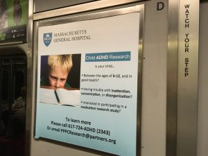 "Fabio Turone ""You're sick, I can help"" – Ads in the Boston/Cambridge Metro."